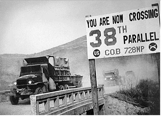 korea 38th parallel uranium 238 double cross